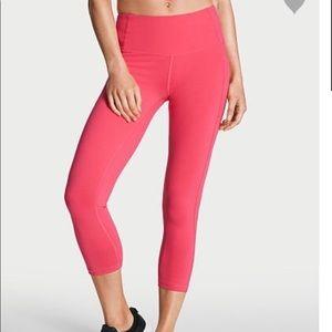 a7c8719636 Victoria's Secret Pants | Victoria Secret Capri Cosmic Coral | Poshmark